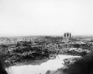GENERAL SCENES ON THE WESTERN FRONT DURING THE FIRST WORLD WAR: THE THIRD BATTLE OF YPRES, PASSCHENDAELE, 1917