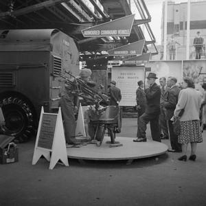 MINISTRY OF INFORMATION EXHIBITIONS DURING THE SECOND WORLD WAR, LONDON, ENGLAND, UK, 1943