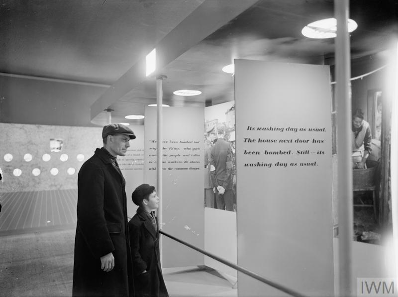 MINISTRY OF INFORMATION EXHIBITIONS DURING THE SECOND WORLD WAR, LONDON, ENGLAND, UK, 1940