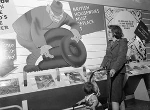 MINISTRY OF INFORMATION EXHIBITIONS DURING THE SECOND WORLD WAR, OXFORD, OXFORDSHIRE, ENGLAND, UK, 1942