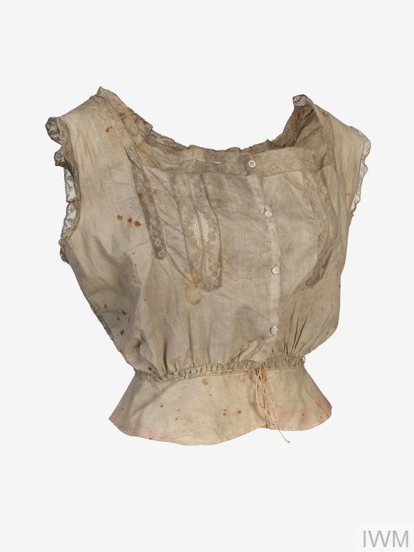camisole, RMS Lusitania relic