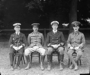 THE BRITISH ARMY AND ROYAL NAVY DURING THE FIRST WORLD WAR