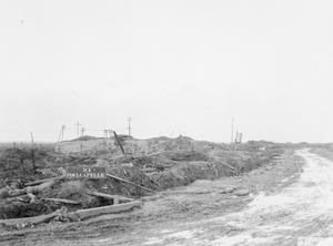 DESTRUCTION ON THE WESTERN FRONT, 1917-1918