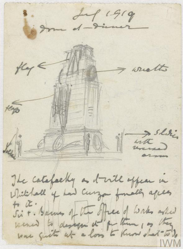 Study for The Cenotaph