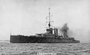 Battlecruiser HMS Queen Mary