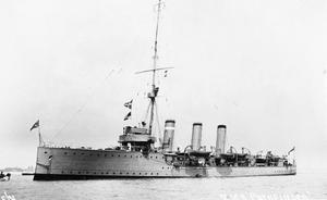 Scout cruiser HMS Pathfinder.