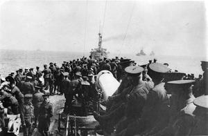 THE DARDANELLES CAMPAIGN, TURKEY, 1915 - 1916