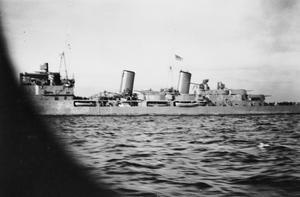 HMS BELFAST DURING THE SECOND WORLD WAR