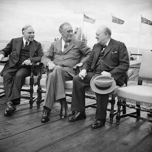 THE QUEBEC CONFERENCE, AUGUST 1943