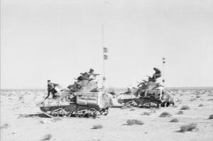 3RD HUSSARS IN NORTH AFRICA DURING THE SECOND WORLD WAR