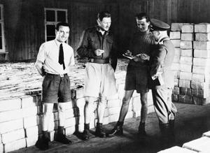 STALAG LUFT III PRISONER OF WAR CAMP, SAGAN, GERMANY DURING THE SECOND WORLD WAR