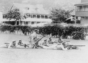 SOUTH CARIBBEAN ARMED FORCES DURING THE SECOND WORLD WAR