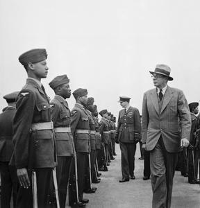 WEST INDIAN VOLUNTEERS JOIN THE ROYAL AIR FORCE IN BRITAIN, C 1944