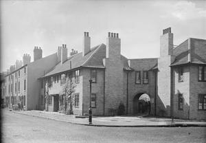 EXAMPLES OF PRE-WAR BUILDING DESIGN USED AS MODELS FOR POST-WAR RECONSTRUCTION