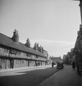 THE HOME OF SHAKESPEARE: LIFE IN STRATFORD-ON-AVON, ENGLAND, 1943