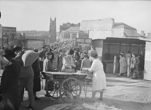 SHOPPING IN WARTIME PLYMOUTH, 1943