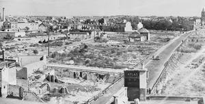 POST 1945 RECONSTRUCTION OF PORTSMOUTH, ENGLAND