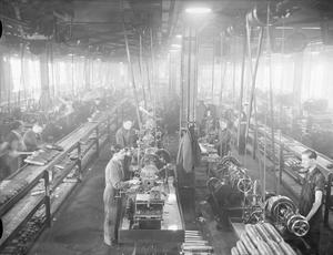 SHELL PRODUCTION ON BRITAIN'S HOME FRONT DURING THE SECOND WORLD WAR