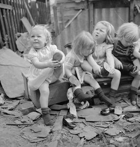 SEVEN PAIRS OF TINY BOOTS: AMERICAN AID TO BRITISH CHILDREN, ENGLAND, 1941