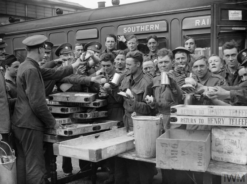 THE BRITISH ARMY IN THE UK: EVACUATION FROM DUNKIRK, MAY-JUNE 1940