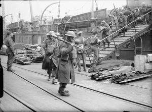 THE BRITISH ARMY IN THE UNITED KINGDOM: EVACUATION FROM DUNKIRK, MAY-JUNE 1940