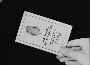 CIVIL DEFENCE IN BRITAIN: NATIONAL REGISTRATION IDENTITY CARD