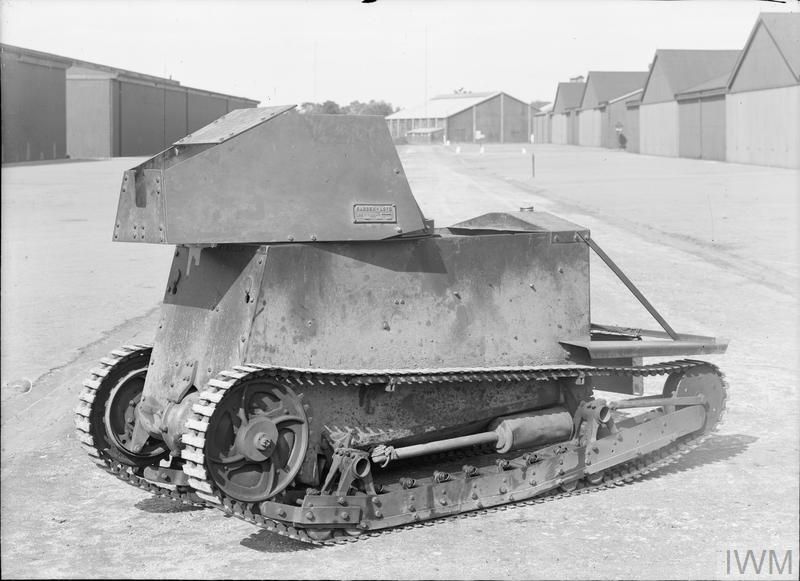 Опытная танкетка Carden-Loyd Mk. I