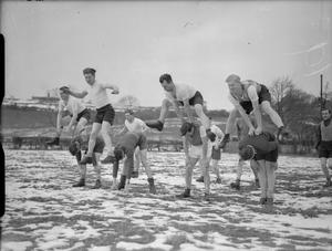 DUTCH TROOPS TRAIN IN ENGLAND, 1941
