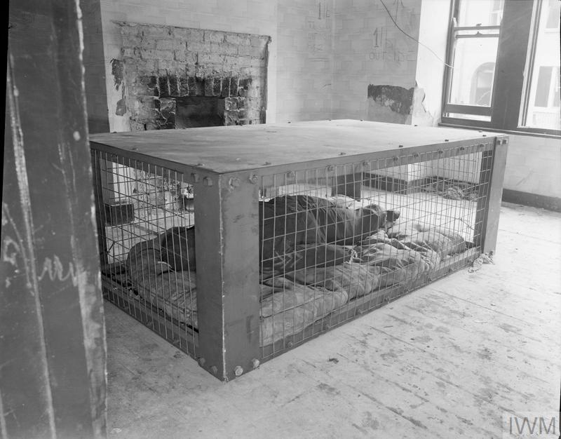 Morrison Shelter Trial Testing New Indoor Shelter 1941 D
