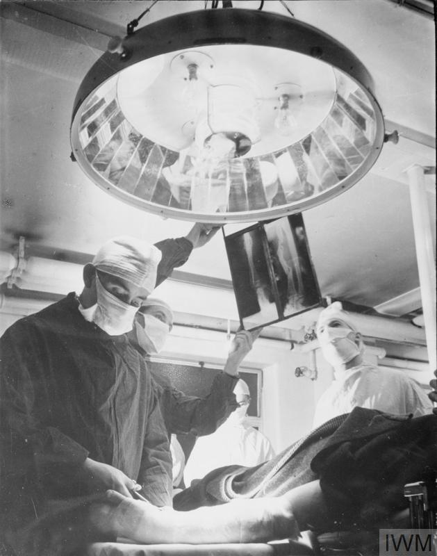 GUY'S HOSPITAL: LIFE IN A LONDON HOSPITAL, ENGLAND, 1941