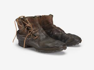 Boots (ankle length), M1893: Imperial German