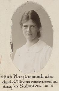STAFF NURSE EDITH MARY CAMMACK