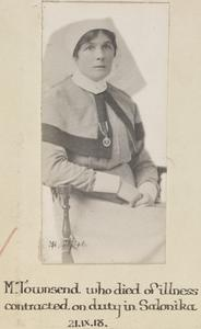 STAFF NURSE MARGERY TOWNSEND