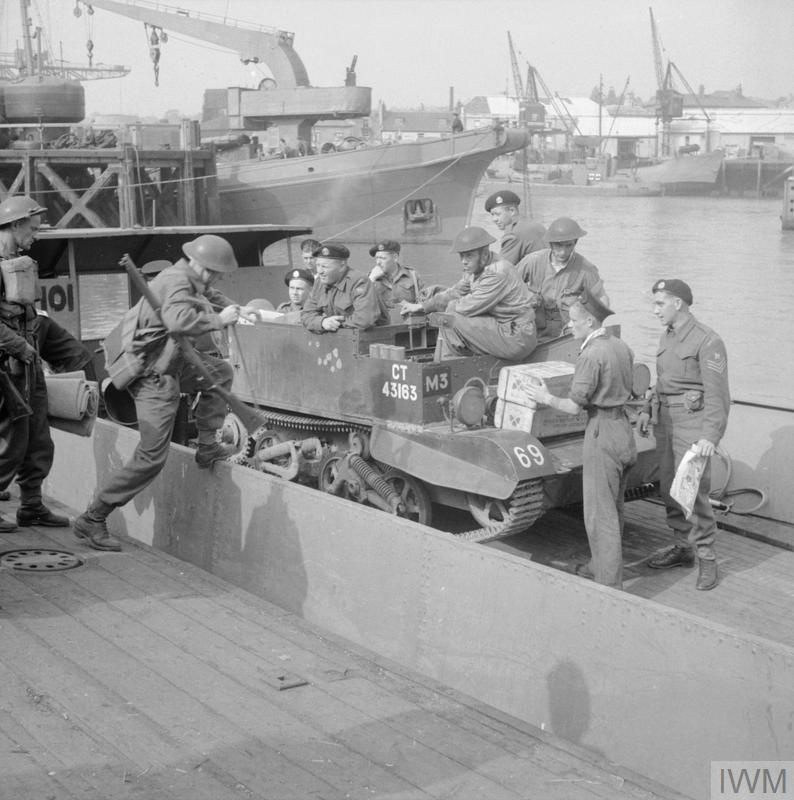 .......preparation for a combined operations exercise, July 1942. Large_000000