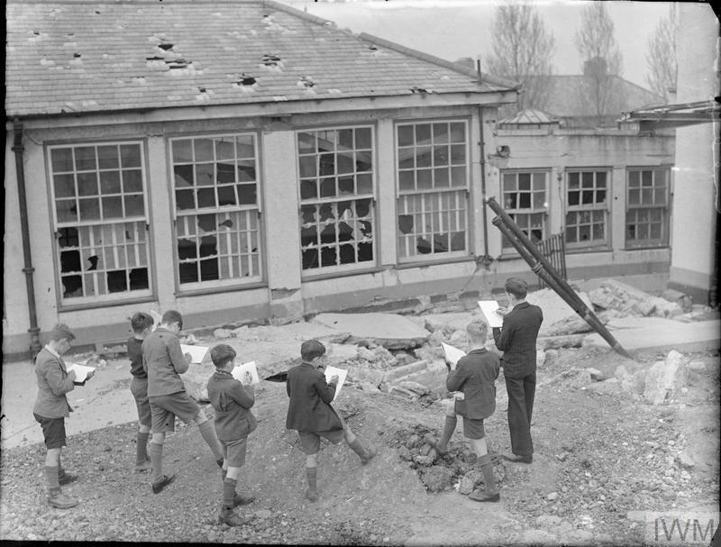 London Schools In Wartime School Life In London England