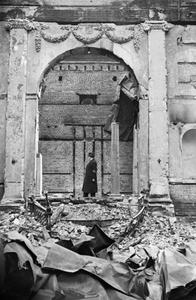 THE GREAT SYNAGOGUE AFTER 250 YEARS, DUKES PLACE, LONDON, 1941