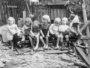 Seven Pairs Tiny Boots American Aid British Children