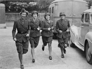 THE WORK OF THE ANGLO-AMERICAN AMBULANCE UNIT IN BRITAIN, 1941