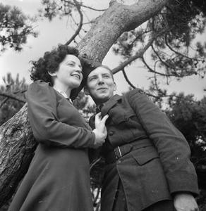 AMERICAN BOY MEETS BRITISH GIRL: LOVE AND ROMANCE ON THE HOME FRONT, BOURNEMOUTH, ENGLAND, 1941