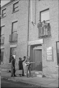 WEST INDIES MERCHANT SEAMEN'S HOSTEL, NEWCASTLE-UPON-TYNE, ENGLAND, 1941