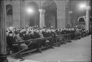 ALLIED SERVICE AT WESTMINSTER CATHEDRAL, 1941
