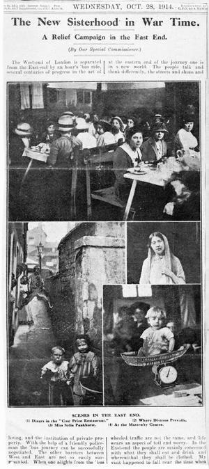THE WOMEN'S WORK IN SERVICES, 1917-1918