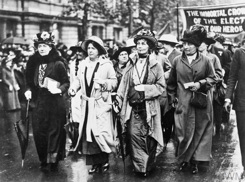 THE SUFFRAGETTE MOVEMENT IN BRITAIN PRIOR TO THE FIRST WORLD WAR ...