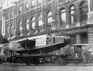 THE LORD MAYOR'S SHOW, NOVEMBER 1918