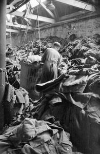 OLD RAGS INTO NEW CLOTH: SALVAGE IN BRITAIN, APRIL 1942