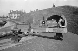 WOMEN RUN A BOAT: LIFE ON BOARD THE CANAL BARGE 'HEATHER BELL', 1942