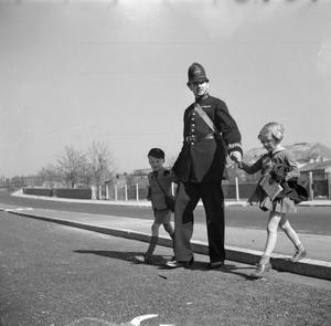 SAFETY FIRST: ROAD SAFETY FOR CHILDREN, ENGLAND, 1942