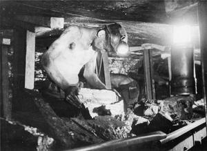 MEN OF THE MINE: LIFE AT THE COAL FACE, BRITAIN, 1942