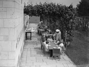AMERICAN AID TO BRITAIN: LIFE AT THE MONTCLAIR NURSERY, 1942