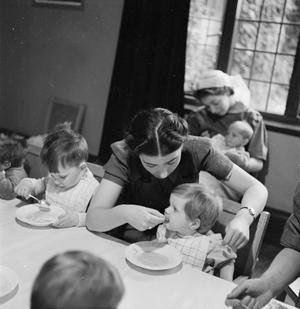 NURSERY FOR WORKING MOTHERS: THE WORK OF FLINT GREEN ROAD NURSERY, BIRMINGHAM, 1942